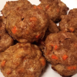 Beef and Vege Balls dog treat