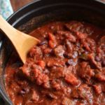 Ground Beef, Kidney Beans and Butternut