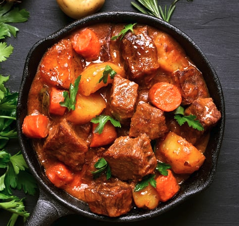 dog style beef stew