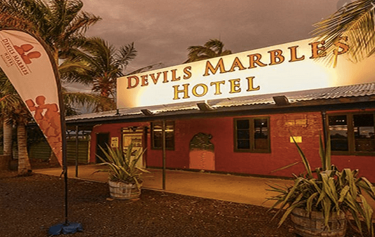 Devils Marbles Hotel – Wauchope   Dog friendly hotels NT - Pet Friendly Hotels Northern Territory