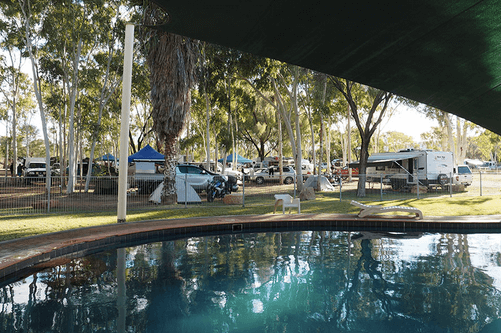 Heritage Caravan Park - (Alice Springs) | The Best Dog friendly road trips NT - Dog friendly holiday ideas Northern Territory