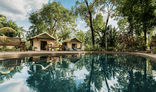 Mary River Wilderness Retreat – Mary River   The Best Dog friendly road trips NT - Dog friendly holiday ideas Northern Territory