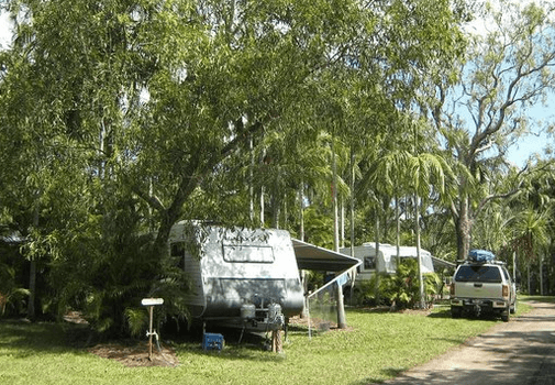 Tumbling Waters Park – South of Berry Springs (Greater Darwin region) | Pet friendly accommodation NT