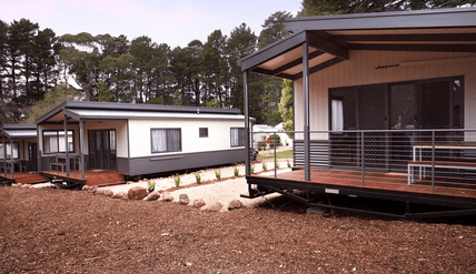 Daylesford Holiday Park - Dog friendly camping near me Victoria