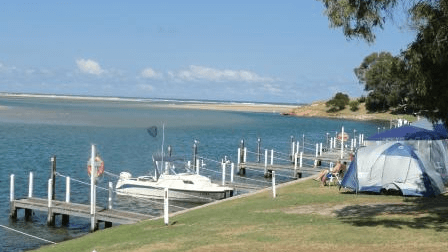 Mallacoota Foreshore Holiday Park - Pet friendly camping Victoria